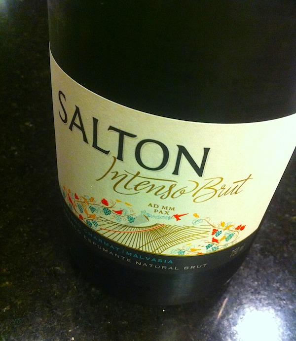 Provei a linha Salton Intenso no WINEBAR