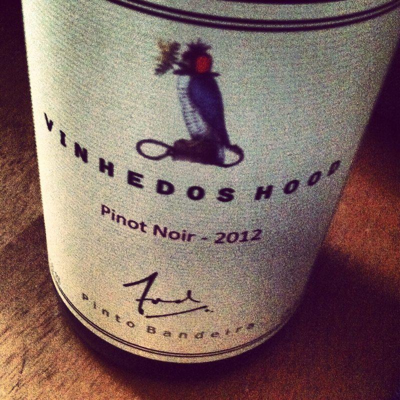 Vinhedos Hood Pinot Noir 2012. O pinot noir do Mario Geisse.