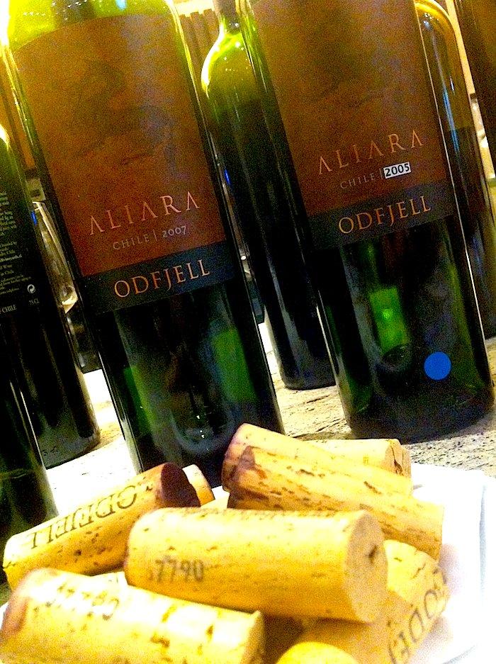 Provei o Odfjell Aliara. Um norueguês fazendo vinhos no Chile.