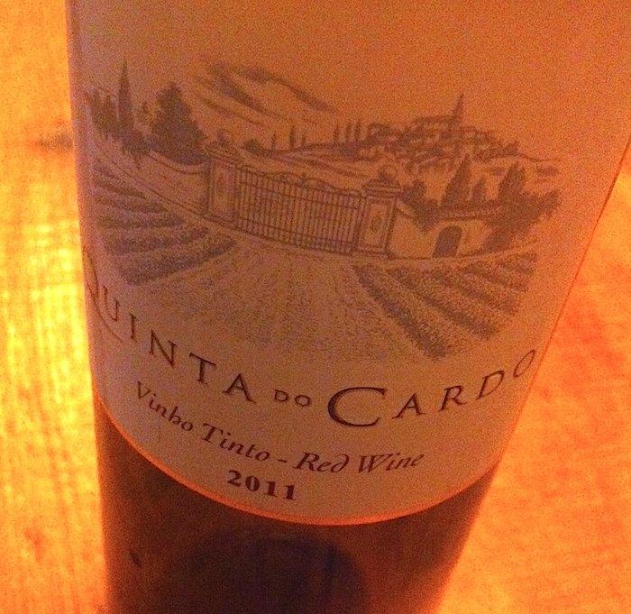 Quinta do Cardo 2011. Um vinho português simples e bom.