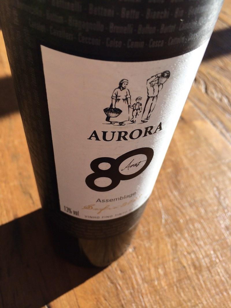 Aurora 80 anos Assemblage