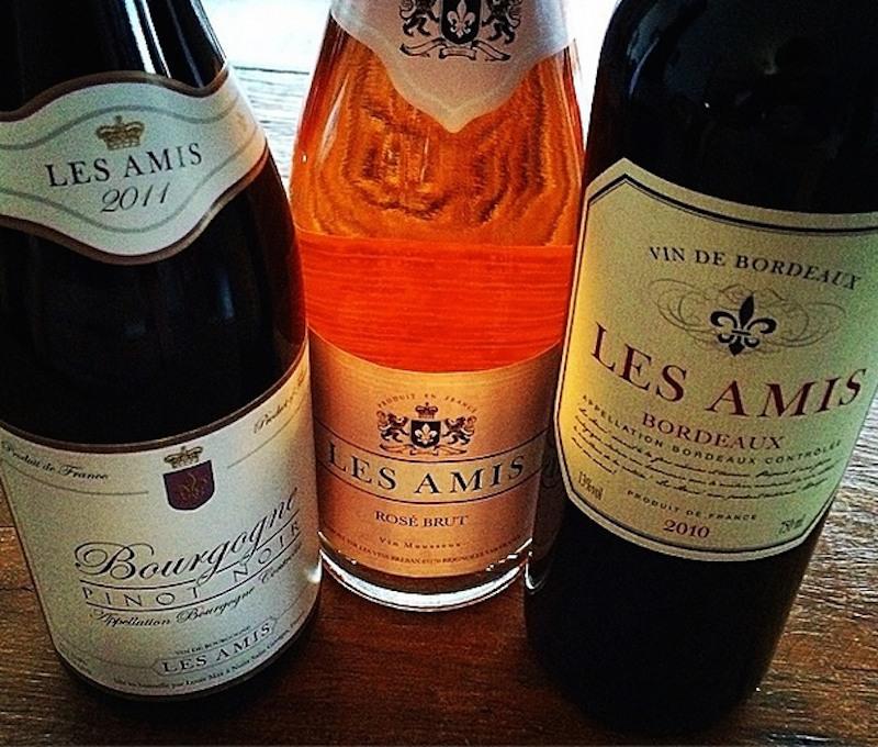 Passeando pela França com Les Amis no Winebar