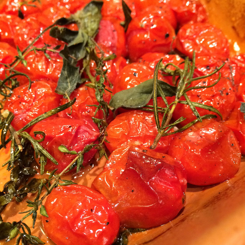 Menu de Baco – Tomatinhos Assados