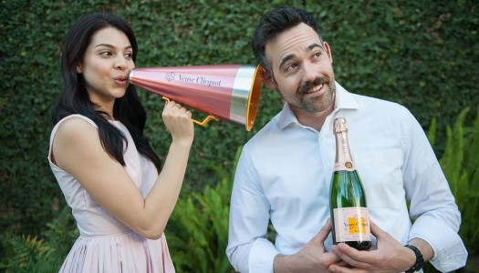 """Scream Your Love"". O jeito ousado da Veuve Clicquot de expressar o amor"