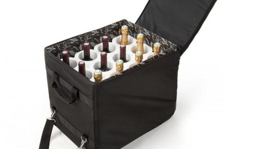 Uma boa solução para trazer vinhos com segurança da França