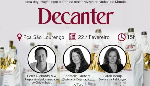 Eno Cultura realiza evento (gratuito) inédito com a Decanter no Brasil