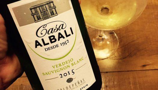 Casa Albali Blanco. Um vinho bom, barato e diferente